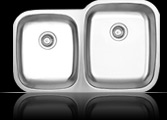 Sienna Arrone™ Reverse - Double Bowl Undermount Sink - Reverse