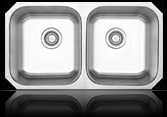 Sienna Polino™ - Double Bowl Undermount Sink
