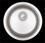 Sienna Manzano™ - Round Single Bowl Undermount Sink